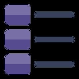 List Flat Icon