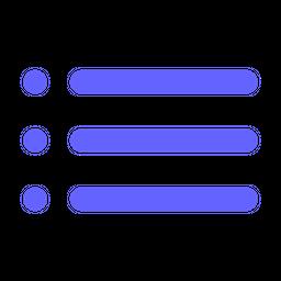List-format Icon