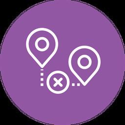 Location Line Icon