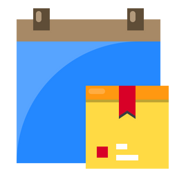 Logistics Delivery Date Icon
