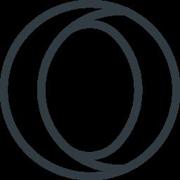 Opera Line Icon