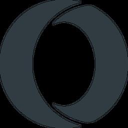 Opera Glyph Icon