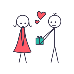 Love, Gift, Heart, Date, Valentine, Romantic Icon png