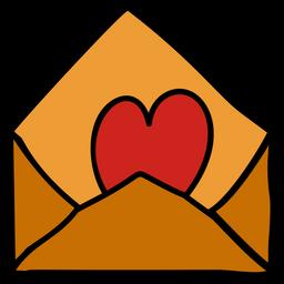 Love Letter Doodle Icon