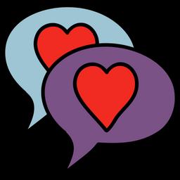 Love Messages Doodle Icon