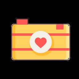 Love, Romantic, Valentine, Day, Camera, Image, Photo, Picture Icon