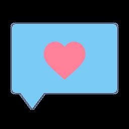 Love, Romantic, Valentine, Day, Message, Chat Icon