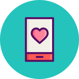Love, Romantic, Valentine, Day, Mobile, Heart, Message Icon png