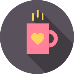 Love, Romantic, Valentine, Day, Mug, Cup, Coffee Icon