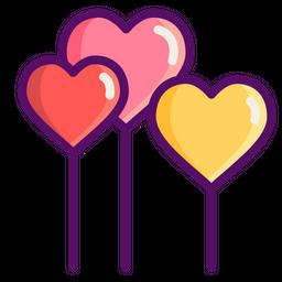 Love, Romantic, Valentine, Valentines, Day, Balloons, Heart Icon