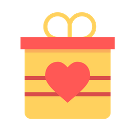 Love, Romantic, Valentine, Valentines, Day, Gift, Surprise Icon