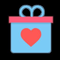 Love, Romantic, Valentine, Valentines, Day, Gift, Surprise Icon