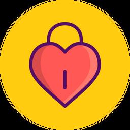 Love, Romantic, Valentine, Valentines, Day, Heart, Lock Icon