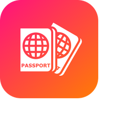 Luggage, Passport, Travel, Visa, Identity, Tourism, Document Icon png