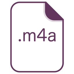 M4a, File, Extension, Document, Filetype Icon