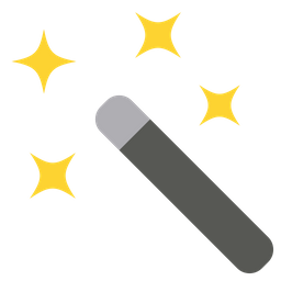 Magic wand tool Icon