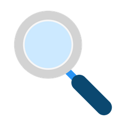 Magnifying Glass Icon Of Flat Style Available In Svg Png Eps Ai Icon Fonts