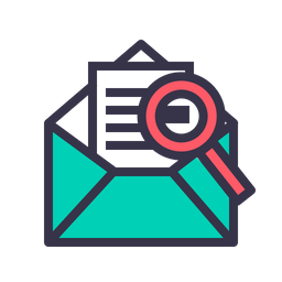 Mail Colored Outline Icon