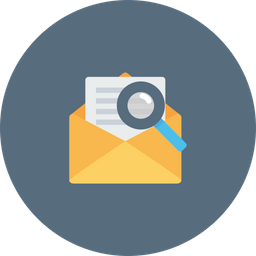 Mail, Email, Search, Seo, Optimization, Communication, Message Icon