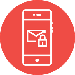 Mail, Message, Lock, Secure, Chatting, Chat, Interface, UI Icon
