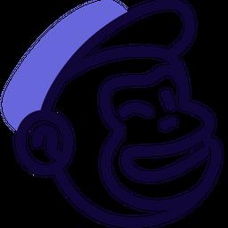 Mailchimp Colored Outline  Logo Icon
