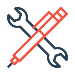 Maintenance, Services, Wrench, Setting, Pen, Support, Tools Icon