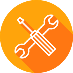 Maintenance, Services, Wrench, Setting, Support, Tools Icon