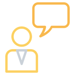 Male, Person, User, Chat, Message, Bubble, Thinking, Idea Icon