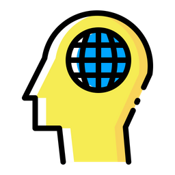 Man, Mind, Power, Creativity, Website, Webpage, Internet Icon