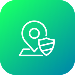 Map Line Icon