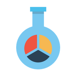 Market, Research, Glass, Tube, Statics, Report, Chart, Seo Icon