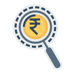 Market, Research, Vision, Find, Search, Investment, Investor Icon