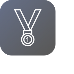 Medal, Position, Trophy, Winner, Gold, First, Award Icon