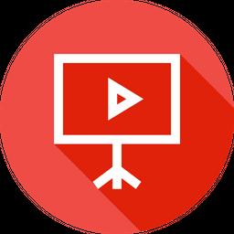 Media Line Icon