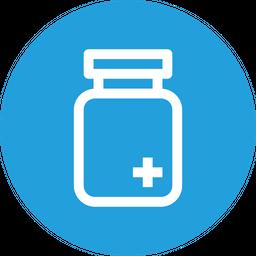 Medical, Bottle, Plus, Hospital, Medicine, Tfreatment Icon