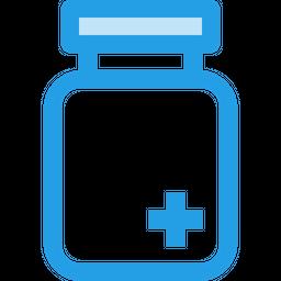 Medical, Bottle, Plus, Hospital, Medicine, Tfreatment, Copy Icon