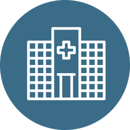Medical, Hospital, Care, Health, Building, Clinic, Emergency Icon
