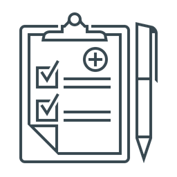 Medical Records Icon Of Line Style Available In Svg Png Eps Ai Icon Fonts