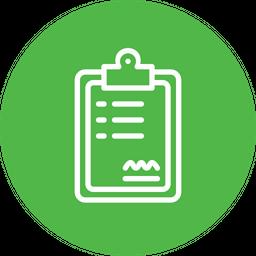 Medical, Report, Healthcare, Description, Policy, Graph, Board Icon
