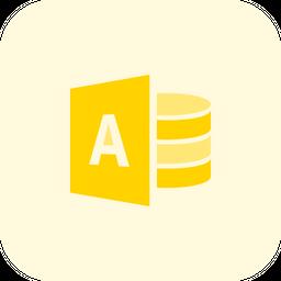 Microsoft Access Logo Icon