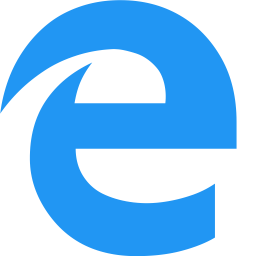 Microsoft Edge Logo Icon Of Flat Style Available In Svg Png Eps Ai Icon Fonts