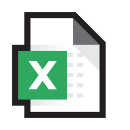 Microsoft Excel Icon Of Colored Outline Style Available In Svg Png Eps Ai Icon Fonts