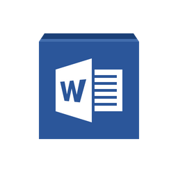 Microsoft Word Icon Of Flat Style Available In Svg Png Eps Ai Icon Fonts