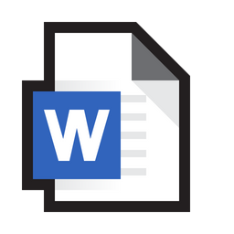Microsoft Word Icon Of Colored Outline Style Available In Svg Png Eps Ai Icon Fonts