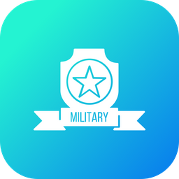 Military, Army, Badge, Badges, Medal, Force, Award Icon