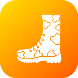 Military, Force, War, Shoe, Foot, Protection Icon