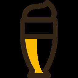 Milk Colored Outline Icon