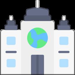 Mnc Company Flat Icon