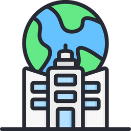 Mnc Company Colored Outline Icon