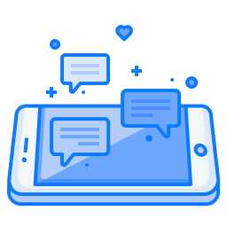Mobile, Concept, Chat, Communication, Text, Chatting, Bubble Icon